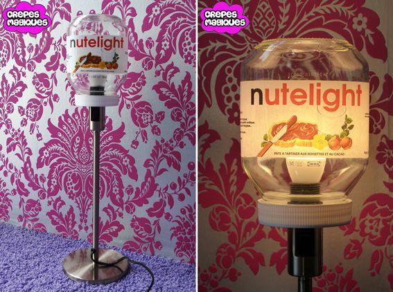 "Lampe ""Nutelight"""