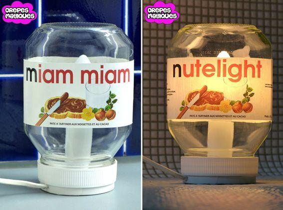 Lampe Nutella
